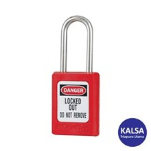 Master Lock S31MKRED Master Keyed Safety Padlocks