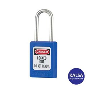 Master Lock S31KABLU Keyed Alike Safety Padlocks
