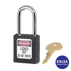 Master Lock 410MKBLK Master Keyed Safety Padlocks
