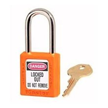 Master Lock 410ORJ Keyed Different Safety Padlocks