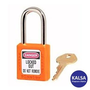 Master Lock 410KAORJ Keyed Alike Safety Padlocks