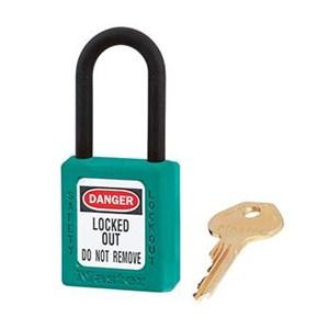 Master Lock 406TEAL Keyed Different Safety Padlocks
