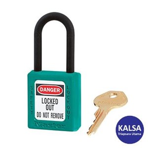 Master Lock 406MKTEAL Master Keyed Safety Padlocks