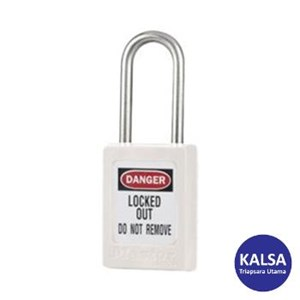 Master Lock S31MKWHT Master Keyed Safety Padlocks
