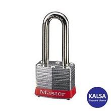 Master Lock 3LHRED Keyed Different Steel Safety Padlocks