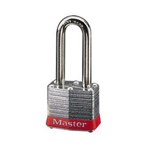 Master Lock 3LHRED Keyed Different Steel Safety Padlocks