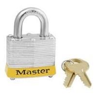 Master Lock 3YLW Keyed Different Steel Safety Padlocks 1