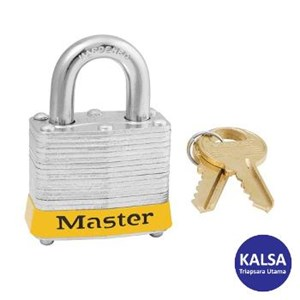 Master Lock 3KAYLW Keyed Alike Steel Safety Padlocks