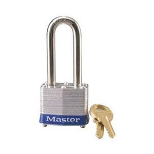 Master Lock 3LHBLU Keyed Different Steel Safety Padlocks