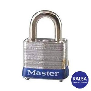 Master Lock 3KABLU Keyed Alike Steel Safety Padlocks