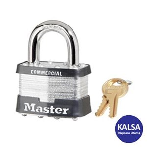 Master Lock 3BLK Keyed Different Steel Safety Padlocks
