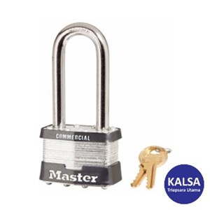 Master Lock 3LHBLK Keyed Different Steel Safety Padlocks