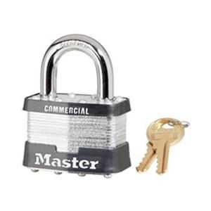 Master Lock 3KABLK Keyed Alike Steel Safety Padlocks