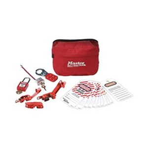 Master Lock S1010E410 Compact Lock Out Pouches