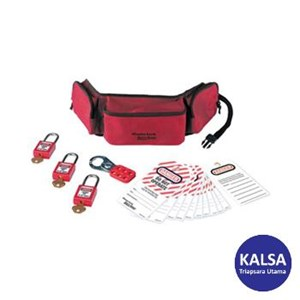 Master Lock 1456P410KA Personal Lock Out Pouches