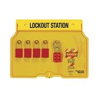 Master Lock 1482BP1106 Padlock Stations 1