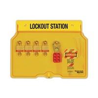 Master Lock 1482BP3 Padlock Stations 1