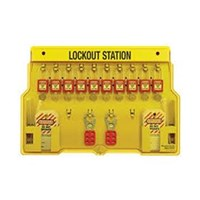 Master Lock 1483BP410Red Padlock Stations