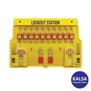 Master Lock 1483BP410RED Padlock Stations