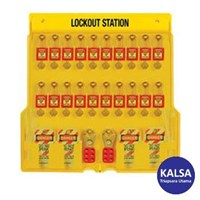 Master Lock 1484BP410 Padlock Stations