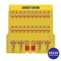 Master Lock 1484BP3 Padlock Stations