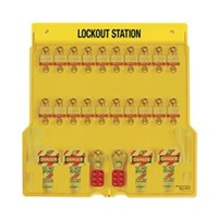Master Lock 1484BP3 Padlock Stations 1