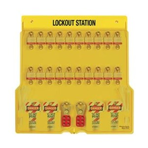 Master Lock 1484BP3 Padlock Stations