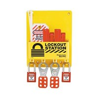 Master Lock S1720E410 Compact Lock Out Stations 1