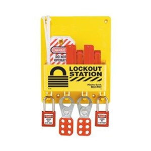 Master Lock S1720E410 Compact Lock Out Stations