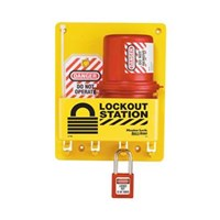 Master Lock S1745E410 Compact Lock Out Stations 1