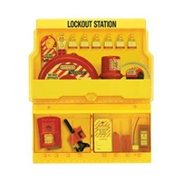 Master Lock S1900VE3 Deluxe Lock Out Stations 1