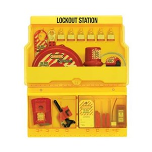 Master Lock S1900VE3 Deluxe Lock Out Stations