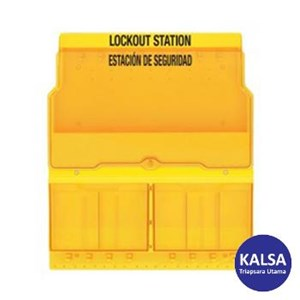 Master Lock S1900 Empty Deluxe Lock Out Stations
