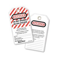Master Lock 497A Do Not Operate Safety Tags 1