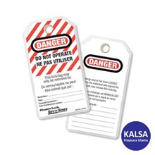 Master Lock 497A Do Not Operate Safety Tags