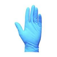 Kimberly Clark 38521 G10 Size M Kleenguard Flex Blue Nitrile Gloves