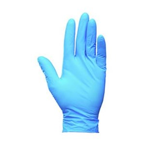 Kimberly Clark 38521 G10 Size M Kleenguard Flex Blue Nitrile Gloves Hand Protection