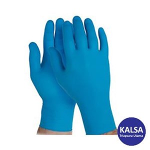 Kimberly Clark 90098 G10 Size L Kleenguard Artic Blue Nitrile Gloves Hand Protection