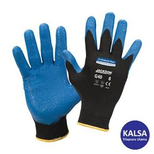 Kimberly Clark 40227 G40 Size L Jackson Safety Nitrile Foam Coated Gloves Hand Protection