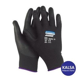 Kimberly Clark 13839 G40 Size L Polyurethane Jackson Safety Coated Gloves Hand Protection