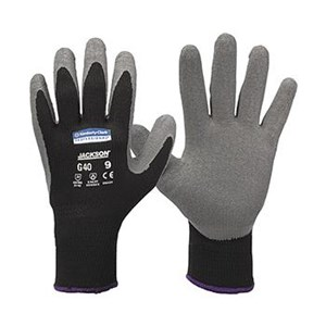 Kimberly Clark 97272 G40 Size L Jackson Safety Latex Coated Gloves Hand Protection