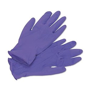 Kimberly Clark 5060301 Size M KC Purple Nitrile Extra Exam Gloves Hand Protection