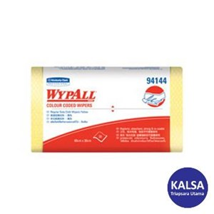 Kimberly Clark 94144 Yellow Wypall Color Coded Wipers Regular Duty