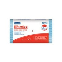 Kimberly Clark 94151 Blue Wypall Color Coded Wipers Regular Duty 1