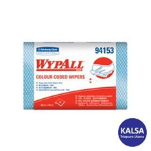 Kimberly Clark 94153 Blue Wypall Color Code Wipers Heavy Duty