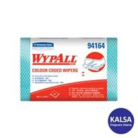 Kimberly Clark 94164 Green Wypall Color Code Wipers Heavy Duty 1