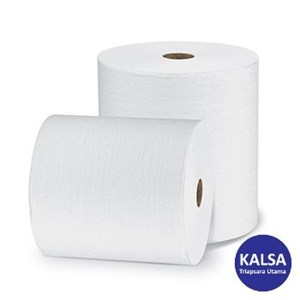 Kimberly Clark 96232 L20 White Wypall Perforated Jumbo Roll Wipers