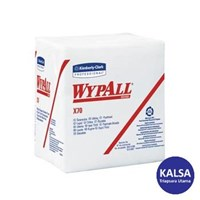 Kimberly Clark 95412 X70 White Wypall Manufactured Rags Wipers 1