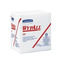 Kimberly Clark 95412 X70 White Wypall Manufactured Rags Wipers