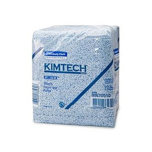 Kimberly Clark 33560 Blue Kimtech Shop Towels Wipers